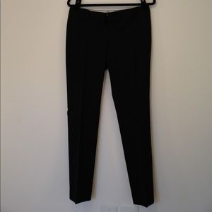 Black work trousers by Ann Taylor